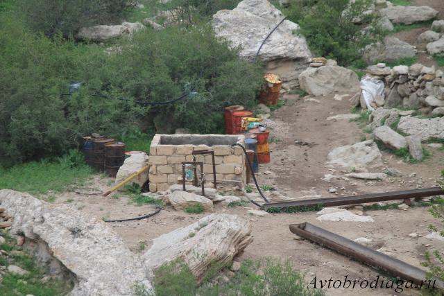 Источник Тампалы, западный Казахстан