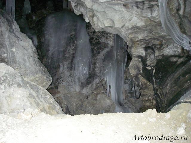 Кунгурская ледяная пещера, зимний автотуризм
